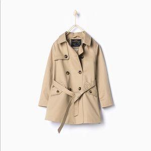Zara kids trench coat